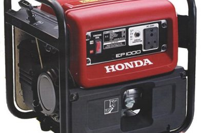 Genset Honda Si Genset Kuat EZ6500CXS Untuk Penggunaan Panjang